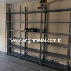 civatalı çelik raf fiyatları