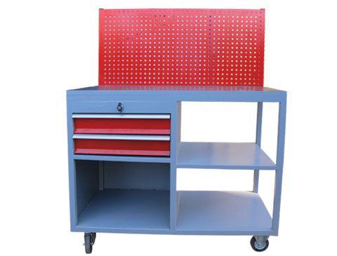 takım asma panolu tekerlekli çalışma masası