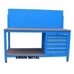 panolu çekmeceli çalışma masası